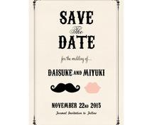 結婚式が決まった方へ♡Save the dateのデザインつくります