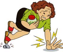 打撲、捻挫の応急処置とその後のケア、再発防止法をアドバイス