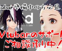 Vtubarデビューのサポートいたします Vtubar準備中の方必見!デビューまでのサポートします。