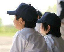 少年野球 中学生野球指導相談 (お父さんの為の息子の指導のお手伝いを致します。)