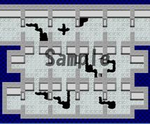 RPGのマップ作成代行引き受けます マップ作りに悩むそこのアナタ、朗報です!