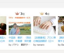 比べてください!プロの中国語翻訳サービス行います 商品説明 作業書 契約書 手紙 ネット記事 ホームページ翻訳
