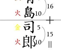歴史ある哲理姓名学に基づき大吉の名前を作ります 幸せな人生、健康長寿、立身出世を求める方の改名、命名をします