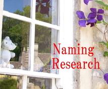 赤ちゃんの名づけをお手伝いします 候補の名前をおしらせください。診断レポートを作成します。