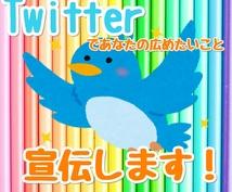 Twitterで約3000人に広めます 伝えたいことや、PR、宣伝などに最適です!