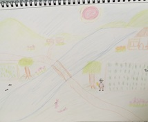 あなたの心の縮図!アートセラピー体験できます 風景画を描くと今のあなたが見えてきます。