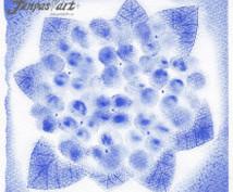 パステルアートでお花イラスト描きます あなたにピッタリのお花イラストを描きますよ