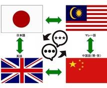英日中(北京・広東)マルチリンガルが翻訳通訳します 翻訳に限らず中英文チェック、校正、ウェブリサーチなど受けます