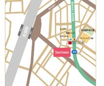 あなただけの地図を作成致します ホームページやチラシなど使いたいところに合わせてご提案します