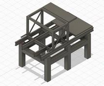 部品製図や3Dモデル化サポートします PDF図面化、3Dモデル、重量計算に関する技術サポート