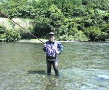 鮎釣りで1日20匹以上釣れるテクニックを伝授します なかなか鮎が釣れないという方、ご相談下さい。