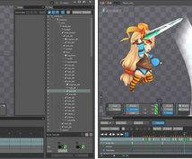 アニメーションであなたのイラスト動かします 動きをつけて命を吹き込無事ができます!