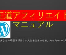 初心者OK☆最新王道アフィリエイトを全て教えます サイト、記事の作成、厳選テーマも提供★手厚いフォローを約束★