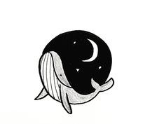 手描きでシンプルな動物イラスト描きます 筆ペンのゆる可愛いイラスト。プレゼントやアイコンにどうぞ