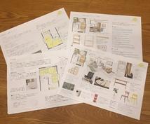居心地のいいお部屋になる提案書をお作りします お部屋の家具配置やインテリアでお困りの方へ