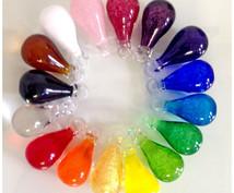 日本の16色の伝統色のしずく玉から読み解きます 先が見えない未来が気になる人へ