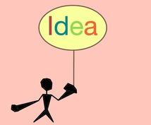 斬新・閃き!5つのネーミングアイデアを出します アイデアが浮かばないあなたへ!