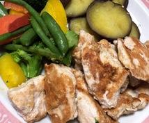 ダイエット成功のために何を食べれば良いか教えます 4週間あなた専属の食事管理を致します!