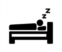 素早く寝付けます 睡眠の質を上げる! (ショートスリーパー)