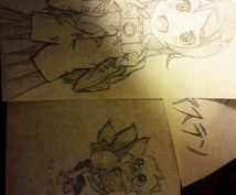 好きなアニメキャラ おもしろイラストかきます アナログイラストにしか出せない味を!