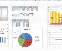 Excelを作成・修正・グレードアップします あなたの作成したExcelを関数、表、グラフで彩ります!