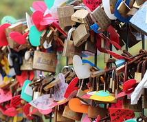 恋愛パワースポット!江ノ島龍恋の鐘で祈願します 二人の名前入り南京錠をあなたの代りにかけてきます