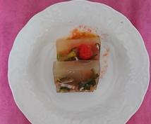 野菜のテリーヌの作り方をお教えします 野菜のテリーヌの作り方をお教え致します。