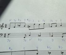 楽譜にドレミ書きこみます 音符がまだスラスラ読めない方に。楽語の翻訳も!