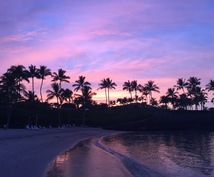 ハワイの写真を撮ります ハワイの風景に癒されたい方へ!