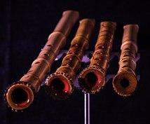 和楽器尺八の音を演奏、録音します 打ち込みにはない生の尺八の音をお届け