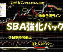 SBA強化パック!勝率UP期待出来ます 相場の近未来予測ツール!相場分析力が大幅UP!