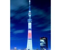 東京スカイツリーの撮影を致します。