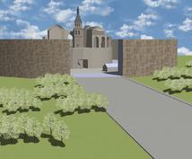 イメージを元に、2Dから3Dに仕上げます。