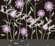 ×+※*花のイラスト作ります*※+×