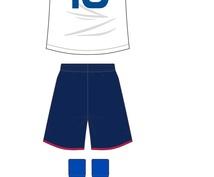 ユニフォームデザインします サッカーやフットサルチームのユニフォーム作成に。