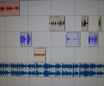 音響効果、音声制作、音響制作をお手伝いします ゲームやドラマCDの音声、効果音を制作、編集しています。