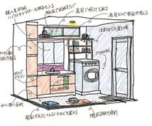 お部屋が使いやすくなる壁面を立体的に提案します 部屋の壁面の使い方を迷っているあなたへ