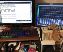 楽曲の制作、編曲などを承ります ロックサウンド、チップチューンサウンドをお好みの方へオススメ
