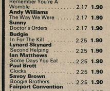 研究家は注目! 1971~75年にイギリスでリリースされたレコードの発売年月日を調べます