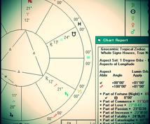 古代占星術による鑑定をおこないます ★通常鑑定★ご質問(1件)に対する鑑定★