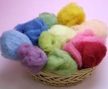 羊毛本来の魅力の3作品を8回のオンラインで教えます 他にはない、羊毛の魅力の詰まった作品はプレゼントにも最適!
