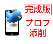 Twitterプロフィールの文章案を作ります あなたの魅力を伝えきりましょう!ツイッター拡散・宣伝OP有り