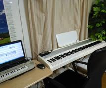 ボーカロイドとピアノ生演奏で曲を制作します お好きな曲を、伴奏付きでボーカロイドに歌わせてみませんか?