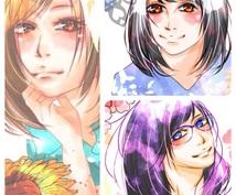 ◆写真をもとにして似顔絵描きます◆