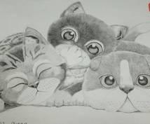 可愛い動物の似顔絵を描きます ついつい話しかけたくなる、そんなパートナーを提供いたします。