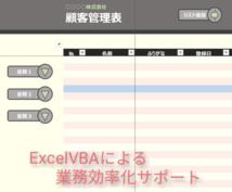Excel VBA パソコン作業を効率化します 仕事で使っているデータの管理に困っている方へ