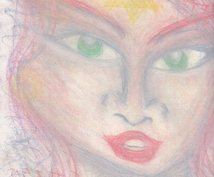 チャネリングアートでスピリットガイドを描きます シンクロニシティの連続にあなたはビックリするでしょう。