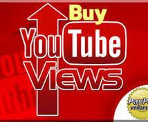 Youtube 再生回数 視聴回数増加します 1000円で1000再生回数以上!再生回数上がるまで拡散!