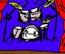 ドラム音源を打ち込みで作成します 神対応を目指しております!お気軽にどーぞ♪