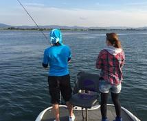 広大な琵琶湖で釣りをサポート致します。